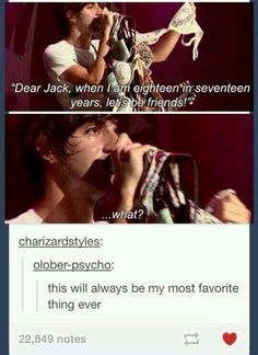 Forever REPIN definitely one of my favorite Jack moments