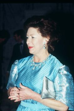 Princess Margaret At The Theatre Royal Opening In Bath