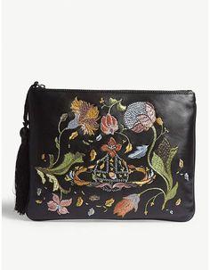 Vivienne Westwood Dolly leather clutch  clutchbagsonline b5c4b70b7e55b