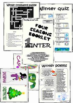 an original and complete booklet about winter topic everything you need in one - Bogglesworld Halloween