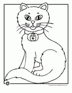 Click To See Printable Version Of Siberian Cat Coloring Page