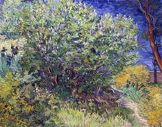 Art and Salt — Lilac Bush - Vincent van Gogh 1889