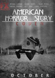 American Horror Story Coven -- Coming October 2013 (Jessica Lange, Angela Bassett, Patti LuPone, Sarah Paulson, Gabourey Sidibe, and Kathy Bates!!!!!)