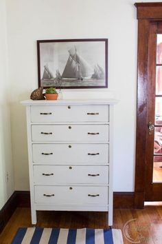 The Dylan Dresser from Finding Silver Pennies featuring antique english hardware from D. Lawless!