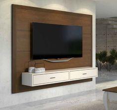 ab09e8d2e O Rack Painel Taeda Suspenso é uma peça criada para aqueles que apreciam  mobília com design