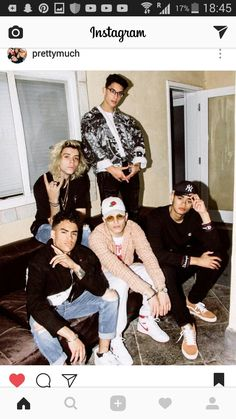 Meet PRETTYMUCH, the Next Big Boy Band to Charm the