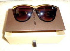 acb53fb4bf Louis Vuitton Sunglasses (Women s Pre-owned Monogram Brown Tortoise LV  Designer Sun Glasses)