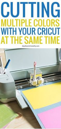 This is the best Cricut tip and trick that you will be learning today! Learn how to cut many colors on just one Cricut Mat! This is the best Cricut tip and trick that you will be learning today! Learn how to cut many colors on just one Cricut Mat! Cricut Air 2, Cricut Mat, Cricut Help, Cricut Cuttlebug, Cricut Craft Room, Cricut Vinyl, Cricut Explore Projects, Vinyl Projects, Cricut Explore Air