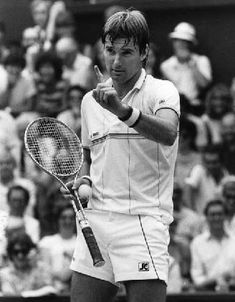 Jimmy Connors:  indicating how many points he played at a time.
