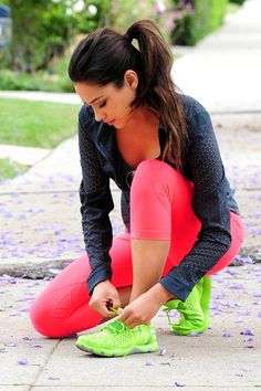 Shay Mitchell - Exercise Candids in LA! I love her, she inspires me to be healthy and fit!