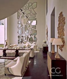 interior design ideas home Living Room Designs, Living Room Decor, Bedroom Decor, Wall Decor, Home Interior Design, Interior Decorating, Partition Design, Luxury Sofa, Home And Living