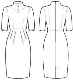 Free Download-The Antoinette Dress Sewing Pattern
