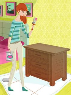 Can I paint varnished wood furniture? #HGTVMagazine answers this and more top home improvement questions. http://www.hgtv.com/design/decorating/design-101/your-top-home-improvement-questions-answered?soc=pinterest