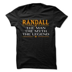 awesome RANDALL ... LEGEND COOOL Shirt!!! 2015
