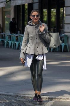 Olivia Palermo seen out and about in Brooklyn