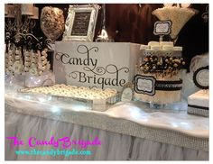 The Candy Brigade - custom candy & dessert tables