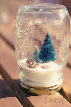 DIY Snow Globes for Christmas | Christmas Christmas
