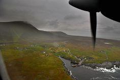 Foula é uma ilha que possui 1500 pôneis e apenas 30 habitantes.