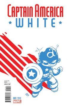Captain America: White # 1 (Variant) by Skottie Young