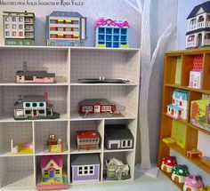 Miniature Dollhouse Shop | I used the Toy Store background t… | Flickr