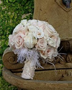 Fav 2 ♥ Blush pink bouquet with pearls
