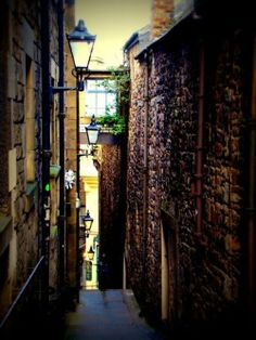 DOWN THE VENNEL