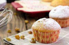 Кексы с изюмом #кексы #десерт #рецепты #деловкуса #готовимсделовкуса