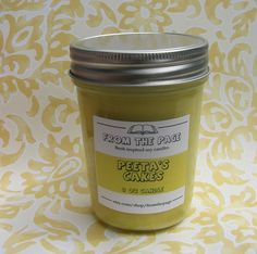 Hey, I found this really awesome Etsy listing at https://www.etsy.com/listing/159837013/peetas-cakes-soy-candle-inspired-by-the