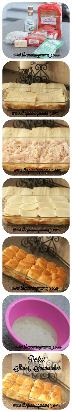 Perfect Turkey and Cheese Slider Sandwiches | The Pinning Mama