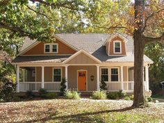 Awww. love this house plan... and wrap around porch!
