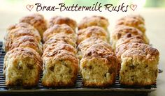 Bran-Buttermilk Rusk goes great with a good cup of Joe... :)