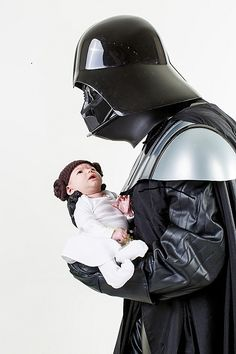 Vader and Leia