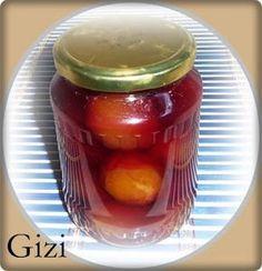Gizi-receptjei. Várok mindenkit.: Szilva befőtt Pickles, Cucumber, Food And Drink, Jar, Automata, Pickle, Zucchini, Jars, Glass