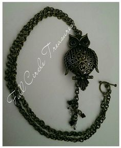 The Wise Owl is believed to be a spiritual by FullCircleTreasures #craftshout0209