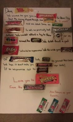 What a...sweet... fathers day card - Imgur
