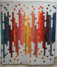 Another way to stretch a jelly roll to a bigger quilt! QUILT PATTERN