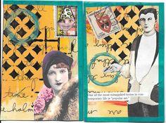 DIY Postcards for @ihanna's Fall 2015 Postcard Swap, by Linda Gibbons