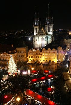 Merry Christmas!Prague, Czech