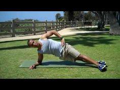 Intermediate & Advanced Side Plank Plyo - Intense Workout for Core Muscle Training & Strengthening