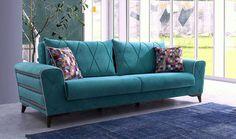 Tufted Sofa, Cushions On Sofa, Sofa Furniture, Furniture Design, Internal Design, Living Room Sofa Design, Luxury Pools, High Back Chairs, Diy Sofa