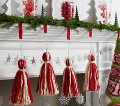 Could make this garland easily for much less....