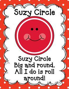 Preschool Poems, Preschool Curriculum, Preschool Lessons, Preschool Classroom, Preschool Learning, Kindergarten Math, Preschool Activities, Shape Activities, Preschool Shapes