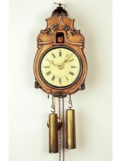 Historical cuckoo clock with glass bell