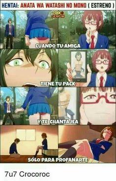 Anata wa watashi no mono Me Anime, Kawaii Anime, Anime Art, Games Memes, Grumpy Cat Quotes, Accel World, Animes On, Adult Humor, Pedobear