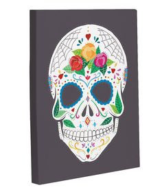 Take a look at this Calavera Canvas on zulily today!