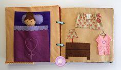 #libro #bebé #actividades #fieltro #handmade #actividades #juegos #niños #infantil