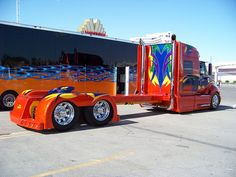 custom 18 wheeler trucks | Recent Photos The Commons Getty Collection Galleries World Map App ...