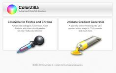 ColorZilla for Firefox and Chrome. Advanced , ColorPicker, Color Analyzer and other colorful goodies.