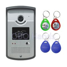 39.99$  Buy now - http://ali0lw.shopchina.info/go.php?t=32790661764 - Intercom System Color Video Door Phone Outdoor DoorBell IR Camera With CMOS Night Vision Can Reader Card XSL-ID Entrance Machine 39.99$ #aliexpresschina
