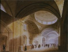 18TH CENTURY, England - Bank of England, 1793 (dem. 1927), London, by John Soane (1752-1837)